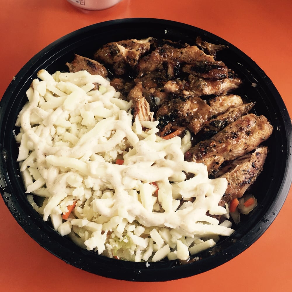 Just Jerks, Ena's Jamaican Grill: 6279 Tri Ridge Blvd, Loveland, OH