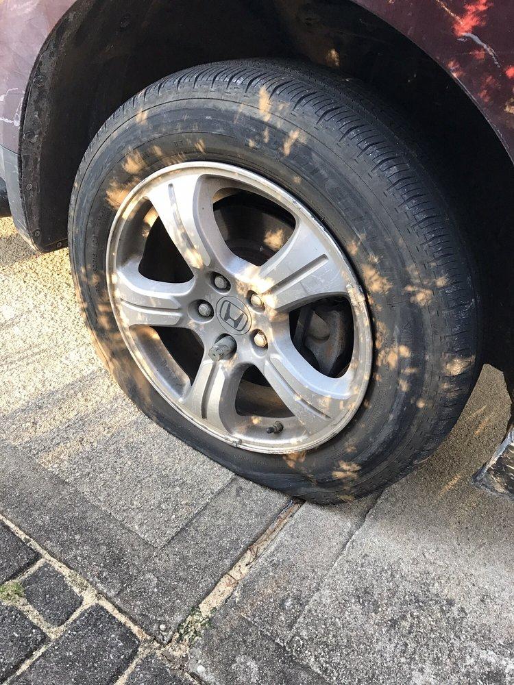 Wonderful Photo Of Tires By Tony   Seaford, NY, United States. Flat Tire On