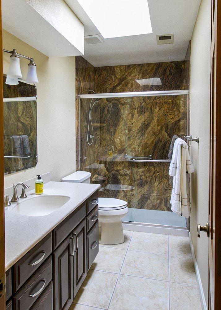 A Beautiful Bathroom Remodel Of A Guest Bathroom In Albuquerque NM Enchanting Bathroom Remodel Albuquerque