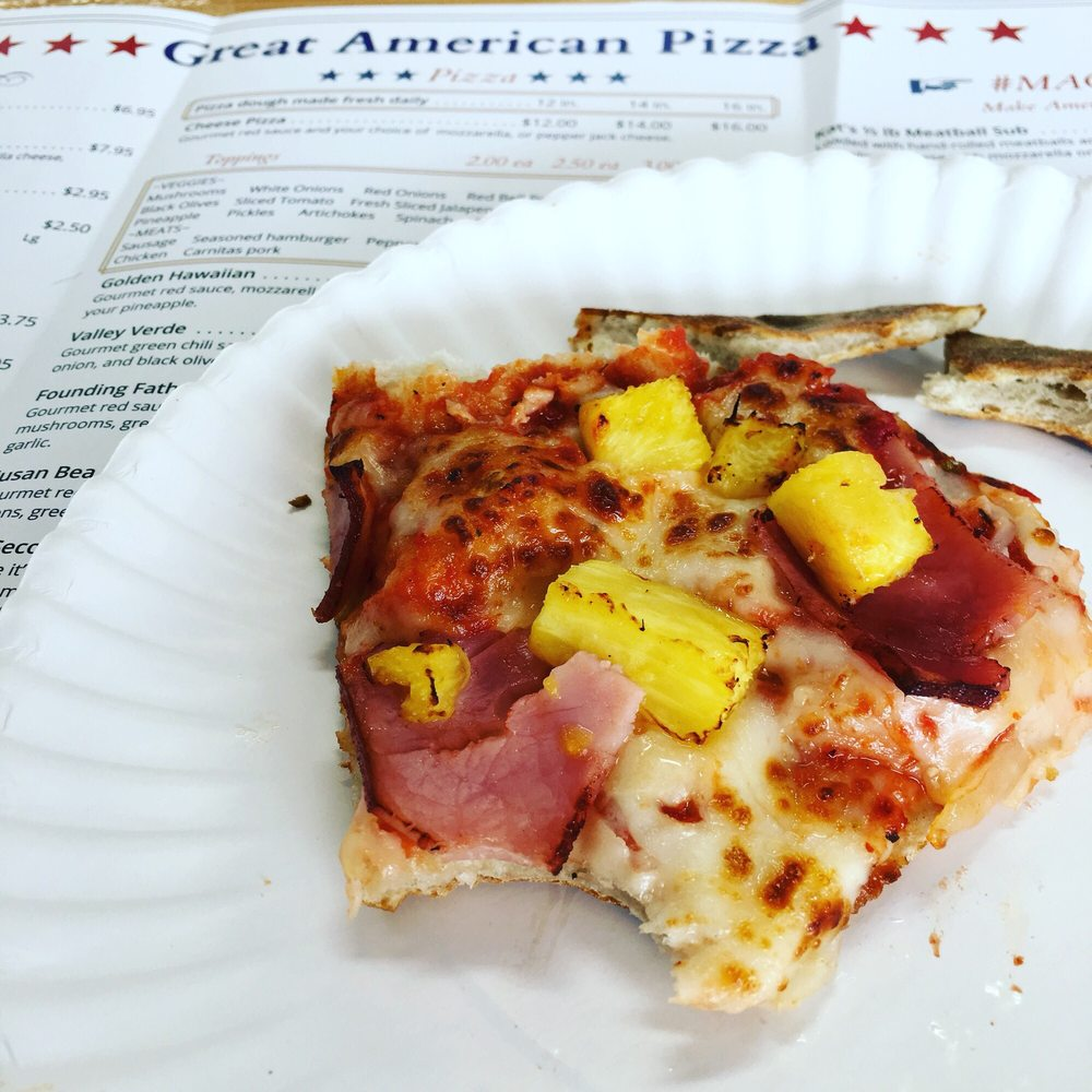 Great American Pizza & Subs: 6775 Hwy 68, Golden Valley, AZ