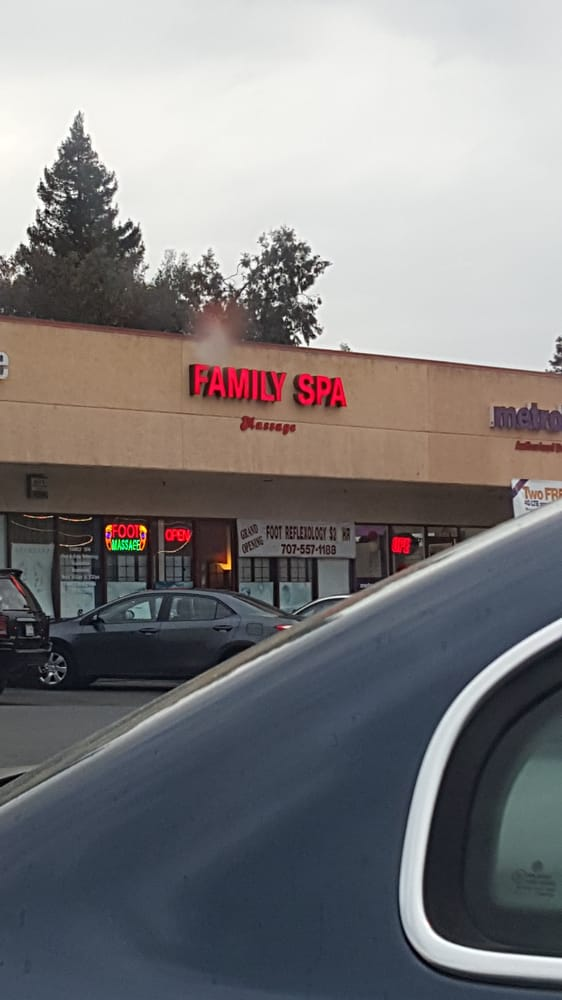 Family Spa: 3315 Sonoma Blvd, Vallejo, CA