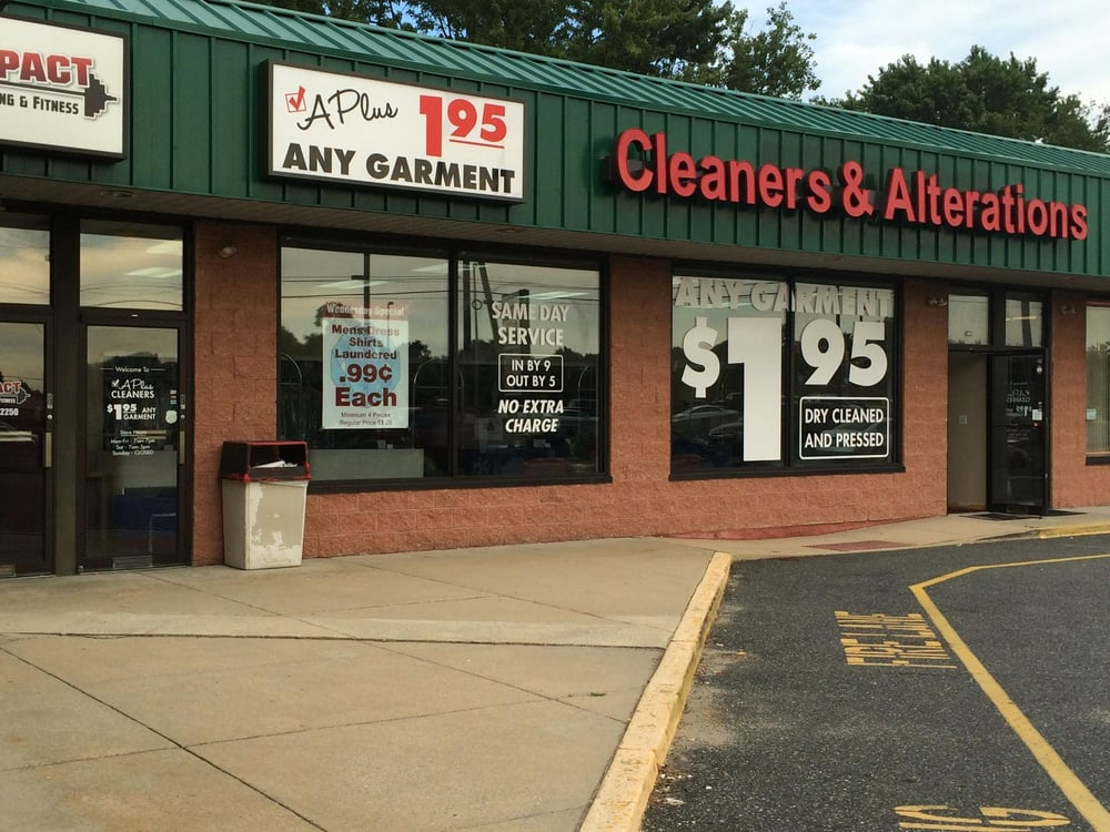 A Plus Cleaners & Alterations: 115 N Rt 73, Berlin, NJ