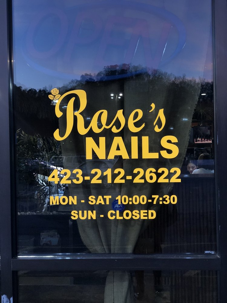 Rose's Nails: 1921 Hwy 394, Blountville, TN