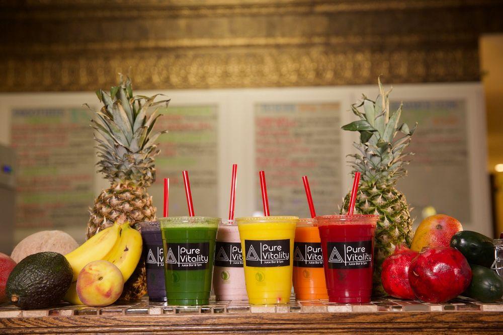 Pure Vitality Juice Bar & Spa: 128 E Broadway St, Mount Pleasant, MI