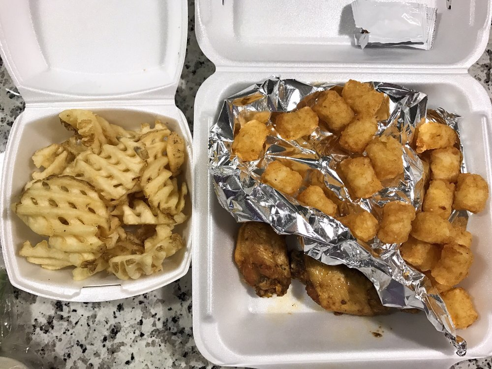 Take Out Order Of Wings And Fries Yelp