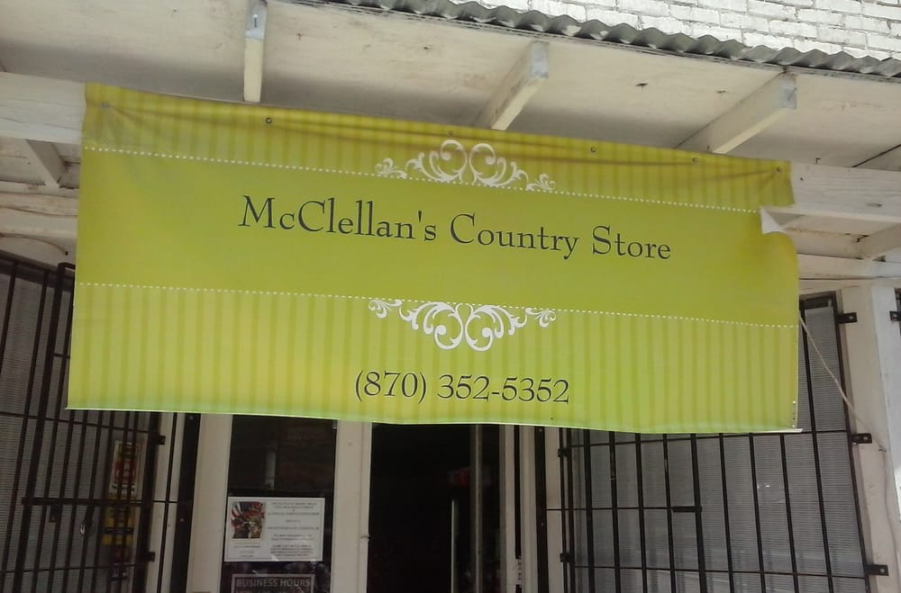 McClellan's Country Store: 6310 Highway 8, New Edinburg, AR