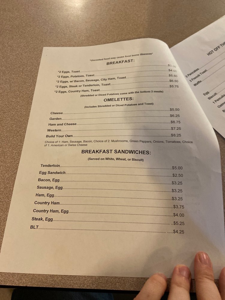 The Double C Cafe: 315R W Main St, Covington, VA