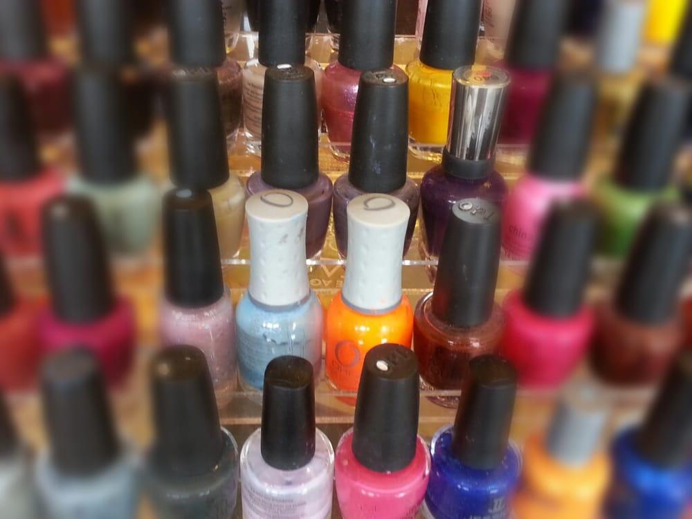 Capri Nails OPI polish - Yelp