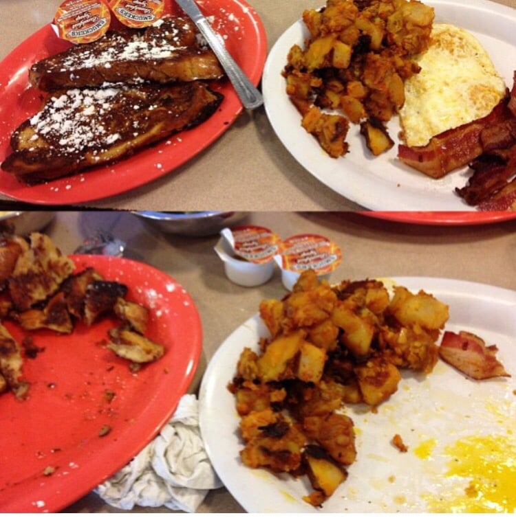 Roasters N Toasters: French Toast With Eggs And Bacon (aka) 2-2-2