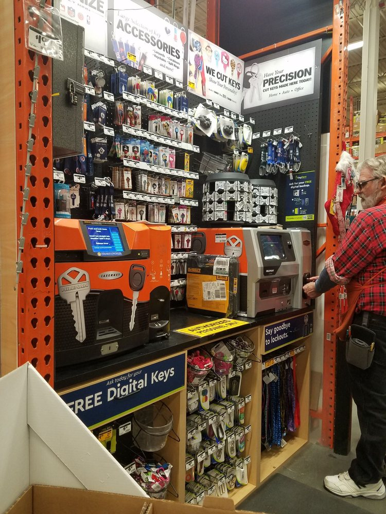 Home Depot Key Copy >> The Key Cutting Center Yelp