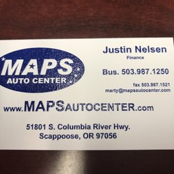 Maps Auto Scappoose MAPS Auto Center   Car Dealers   51801 Columbia River Hwy  Maps Auto Scappoose
