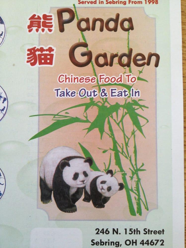 Panda Garden: 246 N 15th St, Sebring, OH