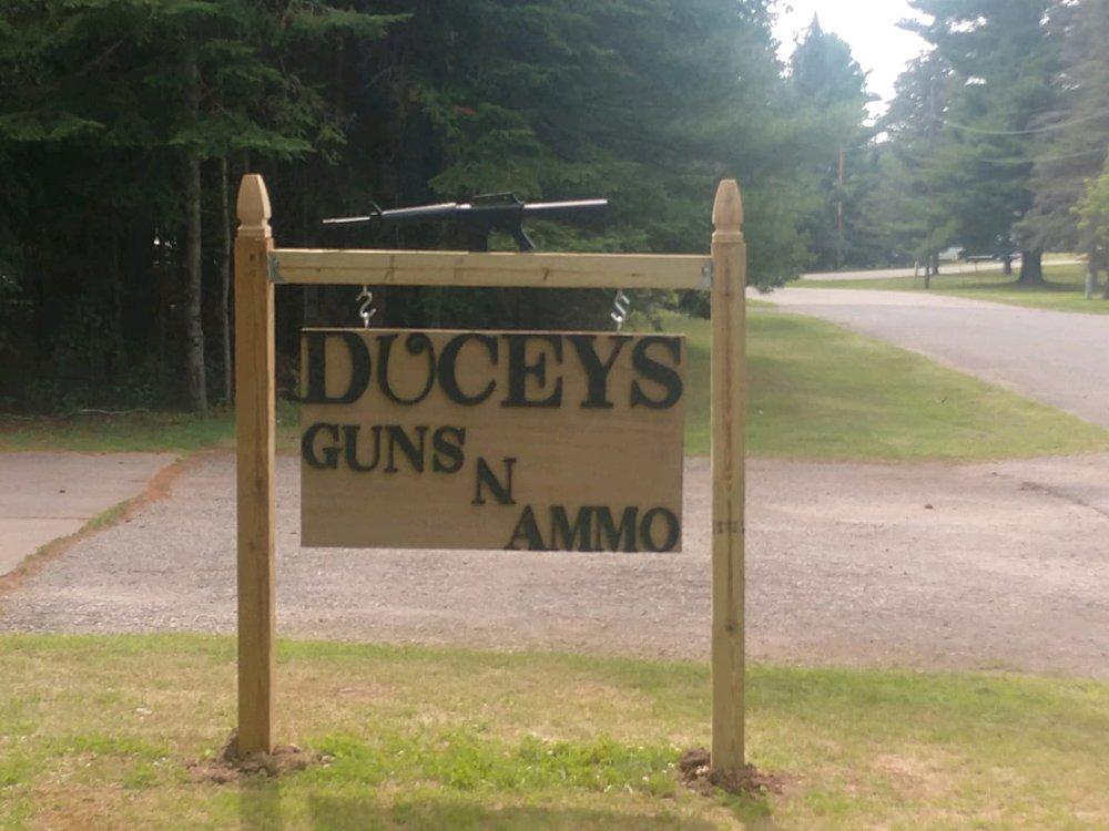 Duceys Guns & Ammo: W8075 Minnie St, Pembine, WI