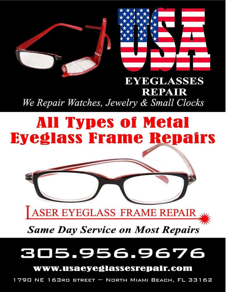 ad for eyeglasses repair yelp