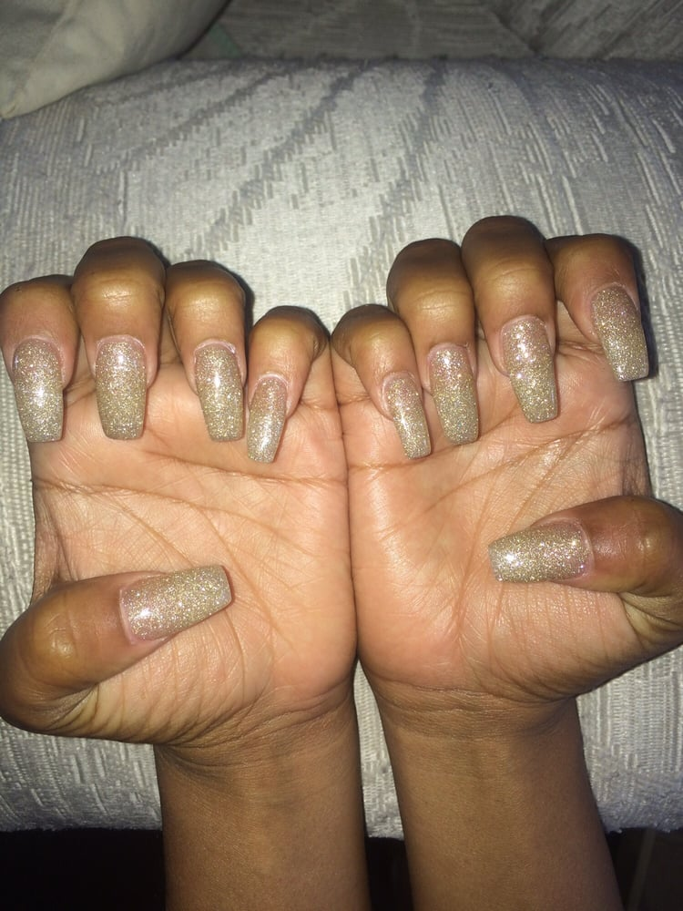 The nail lengths are not the same. - Yelp