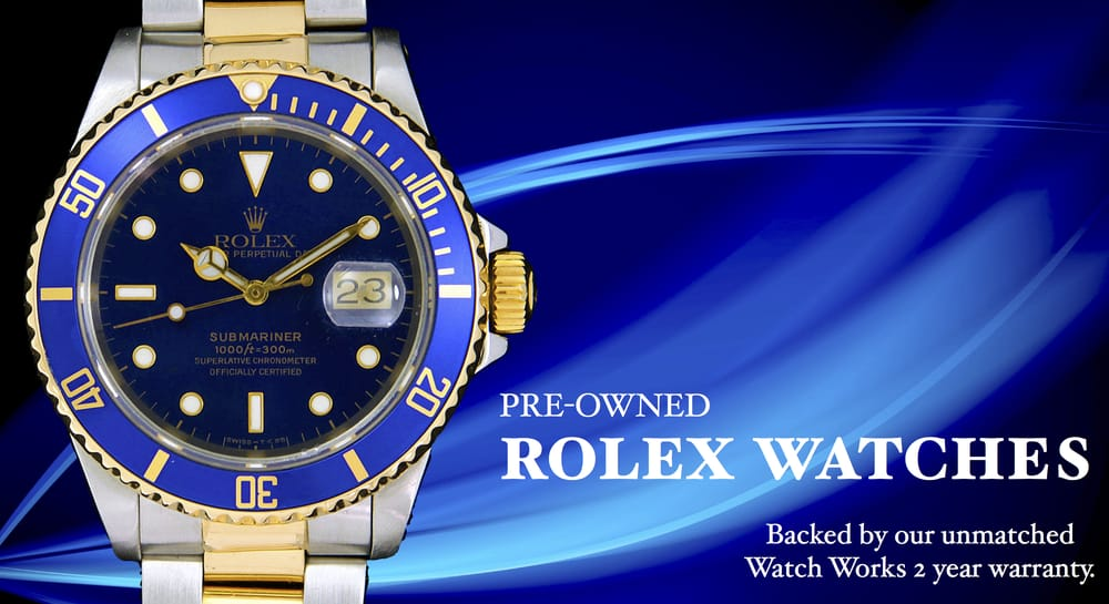 All of our Certified Pre-owned Rolex come with an unmatched