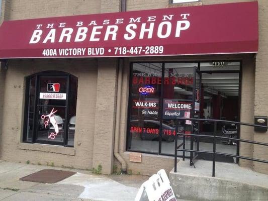 the basement barber shop hair salons 400 victory blvd staten