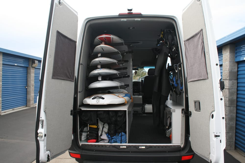 Wind Surfing Sprinter Van Custom Made Board Racks