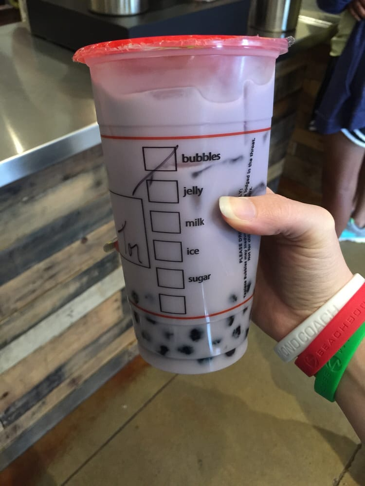 how to make taro milk bubble tea