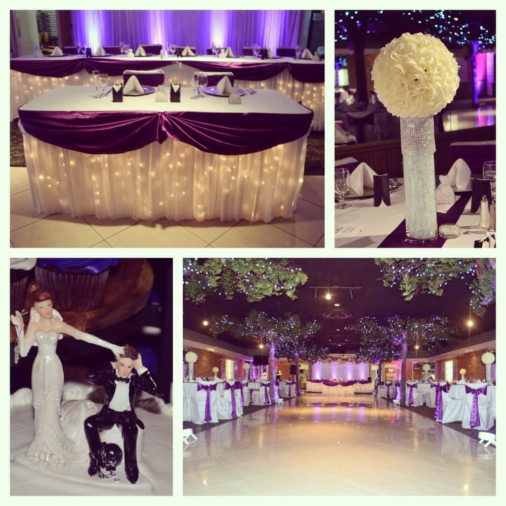 Photo of Diamond Garden Banquet Hall - Chicago, IL, United States. Beautiful decorations at my wedding reception.