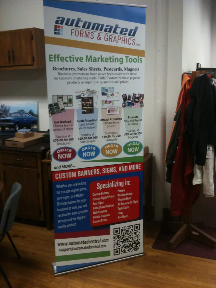 Automated Forms & Graphics: 200 W 11th St, Lockport, IL