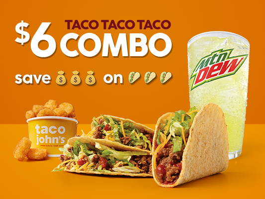 Taco John's: 4107 Red Arrow Hwy, Stevensville, MI