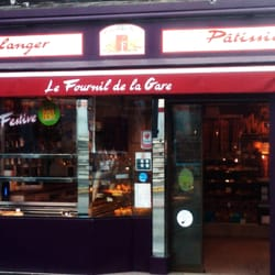 Le fournil de la gare boulangeries p tisseries 71 for Patisserie saint denis