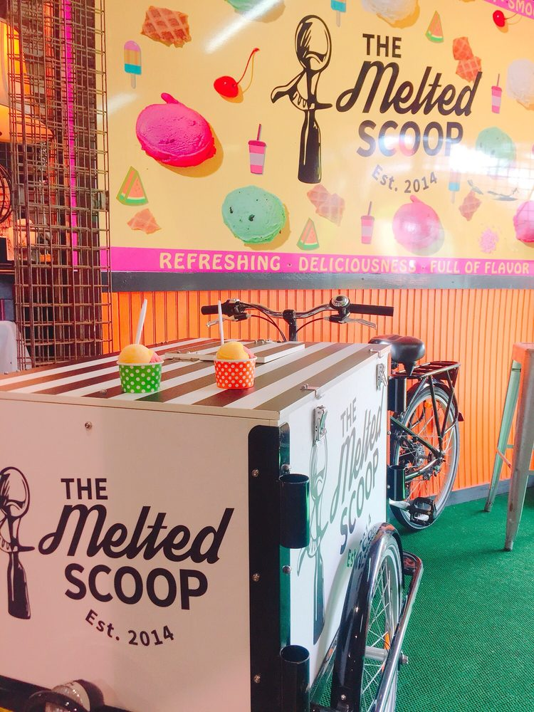 The Melted Scoop: Mobile Cart, Miami, FL
