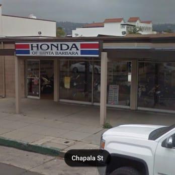 Honda Santa Barbara >> Honda Of Santa Barbara Motorcycle Dealers 408 Chapala St