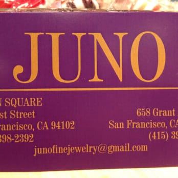 Juno 12 photos 19 reviews jewelry 658 grant ave chinatown photo of juno san francisco ca united states business card colourmoves
