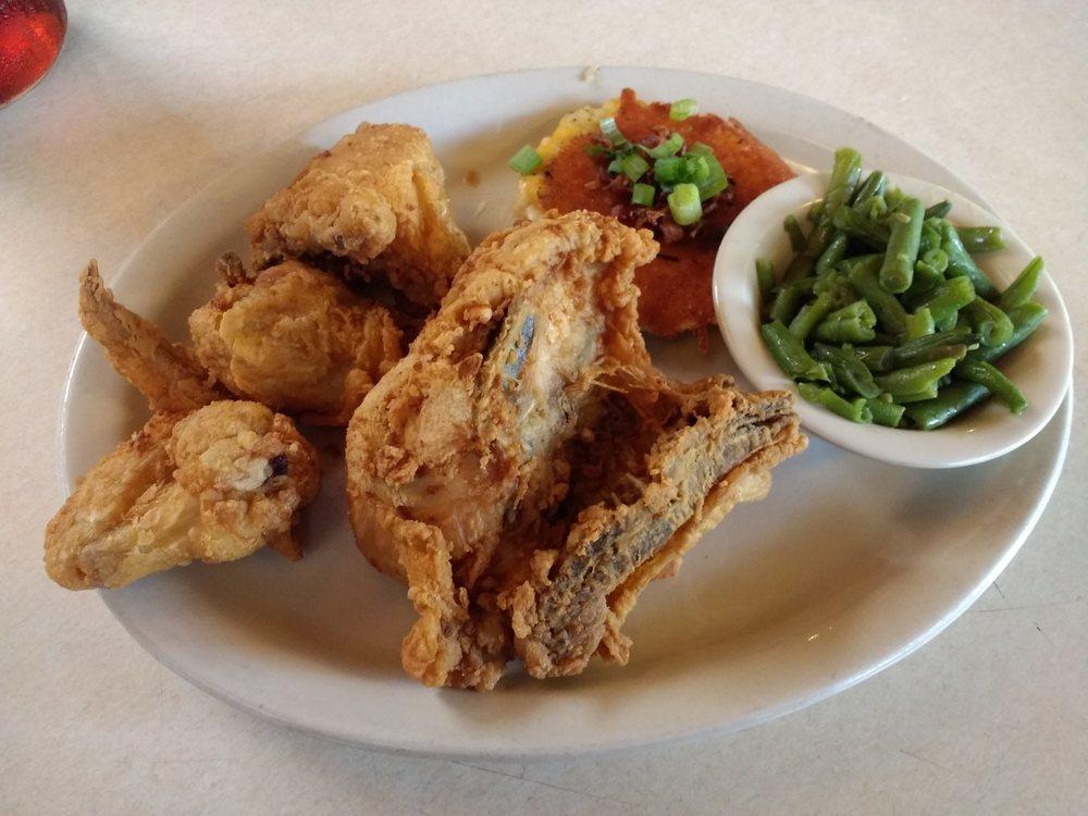 Brick's River Cafe: 1205 Main St, Bandera, TX