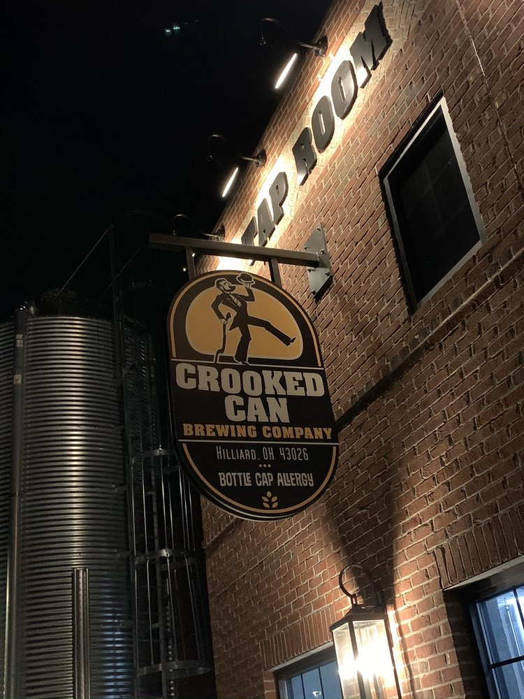 Crooked Can Brewery: 5354 Center St, Hilliard, OH