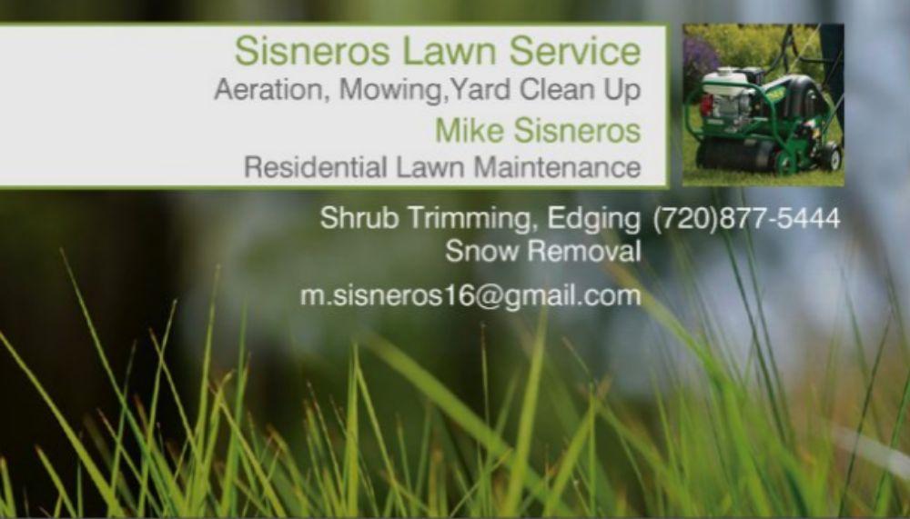 Sisneros Lawn Service