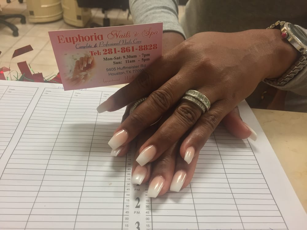 Ombre nails yelp for Euphoria nail salon