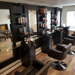 Modern beauty salon interior design in Dubai ☆Hair☆Nail ...