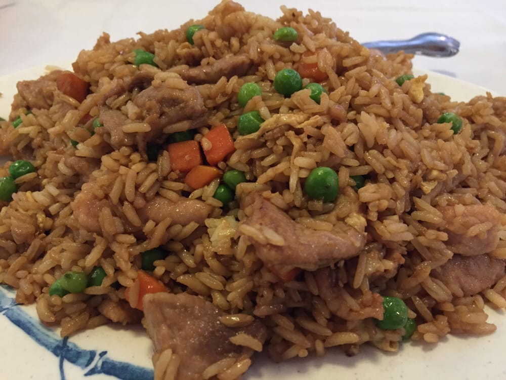 Pork fried rice yelp for Aiyara thai cuisine