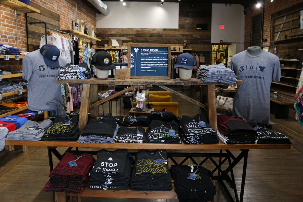 Five Pound Apparel: 412 South Ave, Springfield, MO