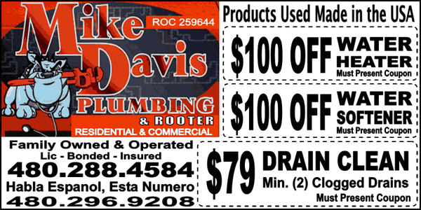 Mike Davis Plumbing Idraulici 402 E Hondo Ave Apache