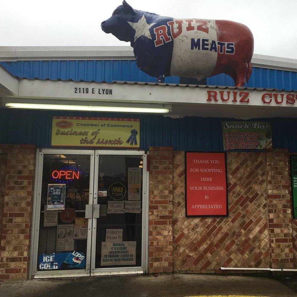 Ruiz Custom Meats: 2119 E Lyon St, Laredo, TX
