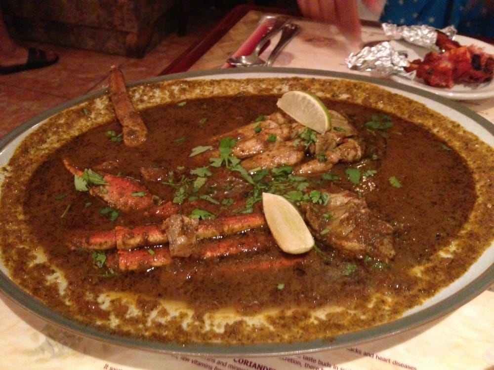 Crab masala spicy yelp for Anjappar chettinad south indian cuisine