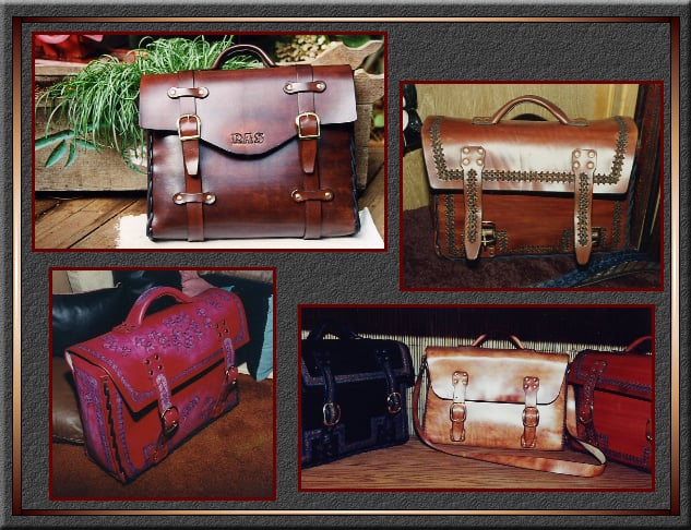 Leather Art: Ben Lomond, CA
