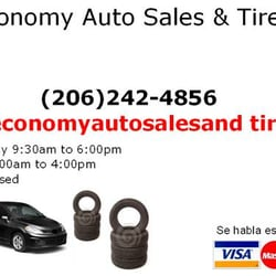 Economy Auto Sales >> Economy Auto Sales Tires Car Dealers 10432 15th Ave Sw