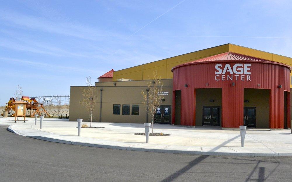 SAGE Center: 101 Olson Rd, Boardman, OR