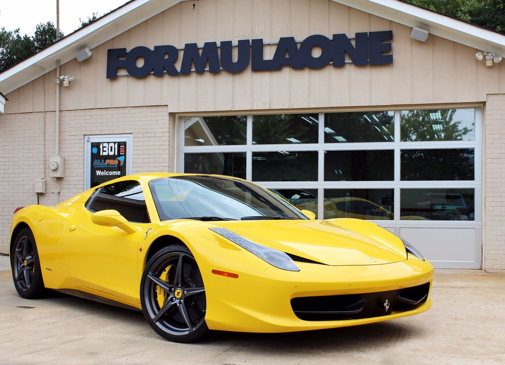2013 Ferrari 458 Spyder With Formulaone Pinnacle Ceramic Yelp