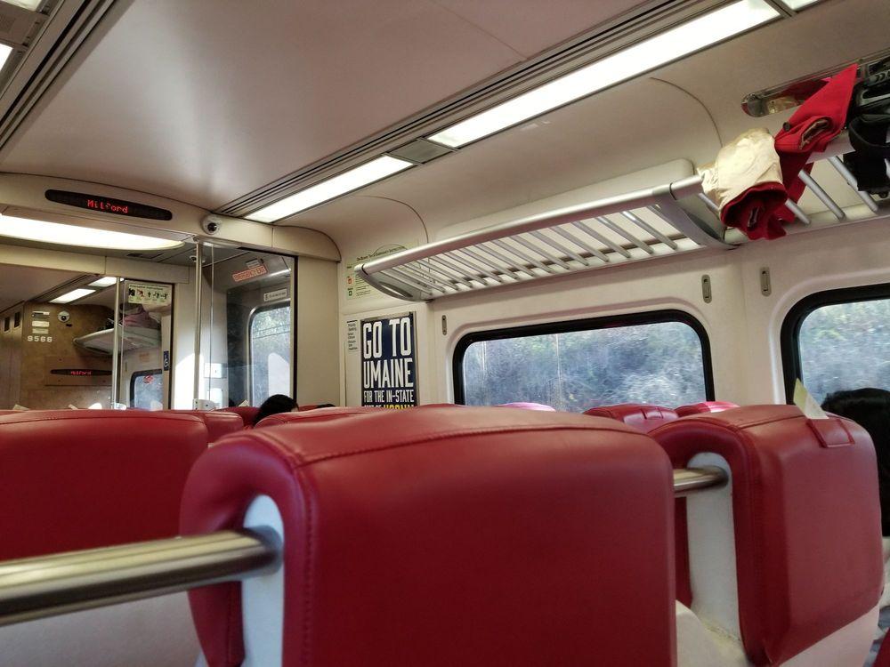 Metro North: 50 Union Ave, New Haven, CT