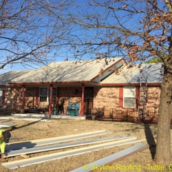 Photo Of Skyline Roofing   Norman, OK, United States. Ragsdale Metal Roof  In ...
