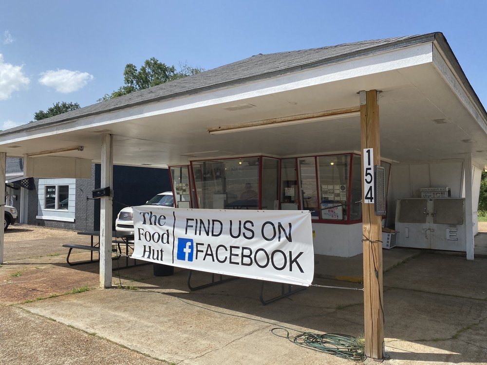 The Food Hut: 154 East 3rd St, Forest, MS