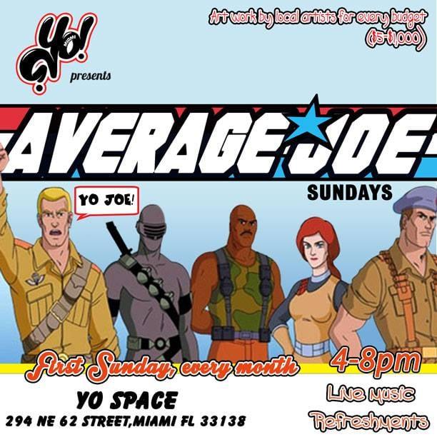 Average Joe Sundays
