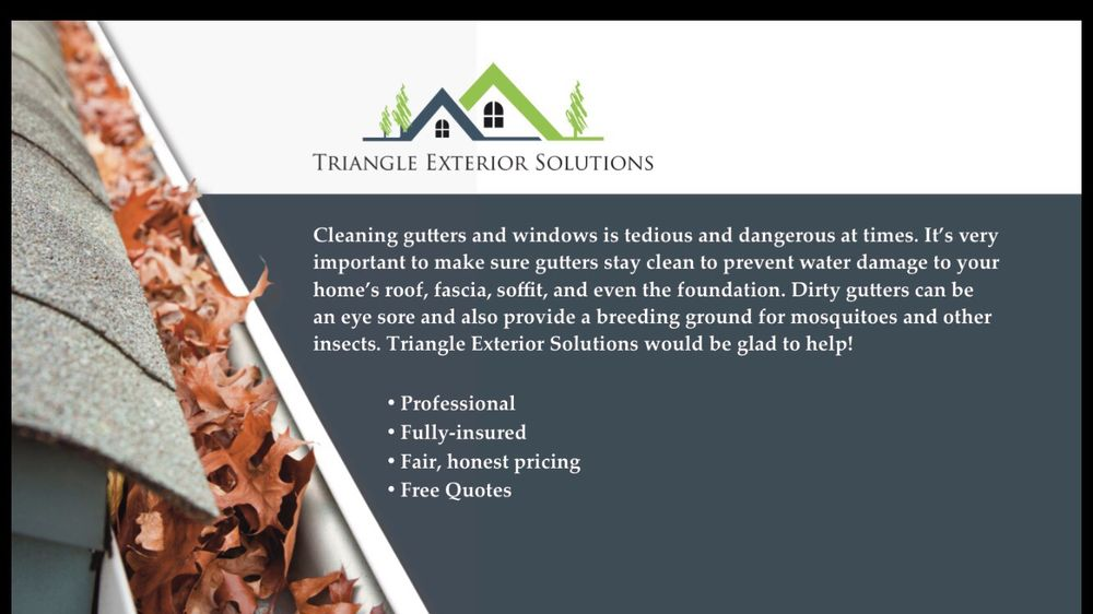 Triangle Exterior Solutions   Gutter Services   Raleigh, NC   Phone Number    Yelp