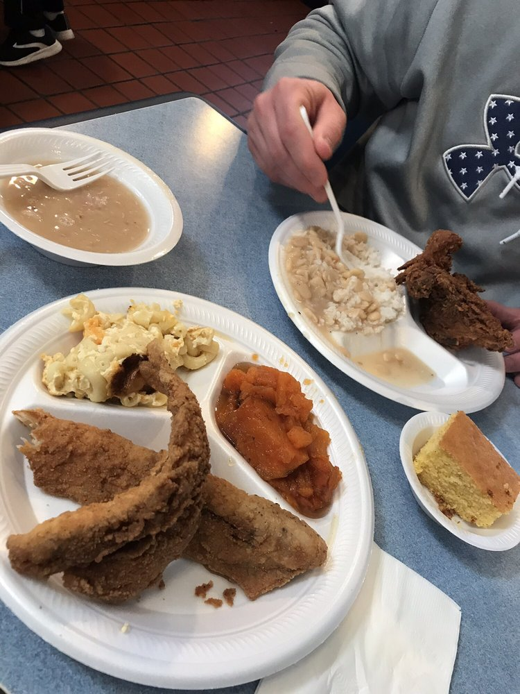Food from Bertha's Kitchen